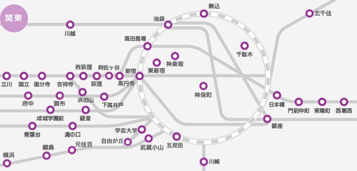 ピラティススタイル東京マップ