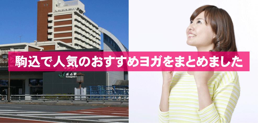 駒込駅周辺の人気おすすめヨガをまとめました