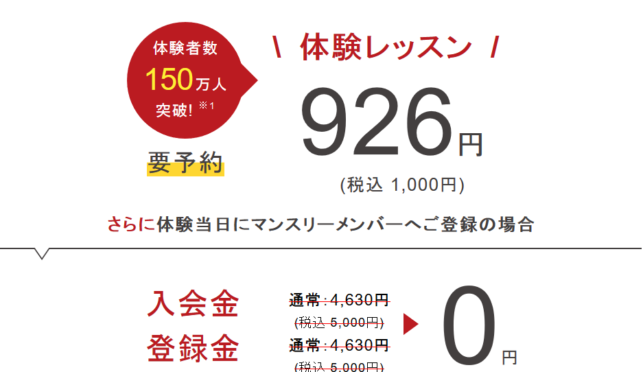 仙川駅近辺のヨガ体験レッスン例