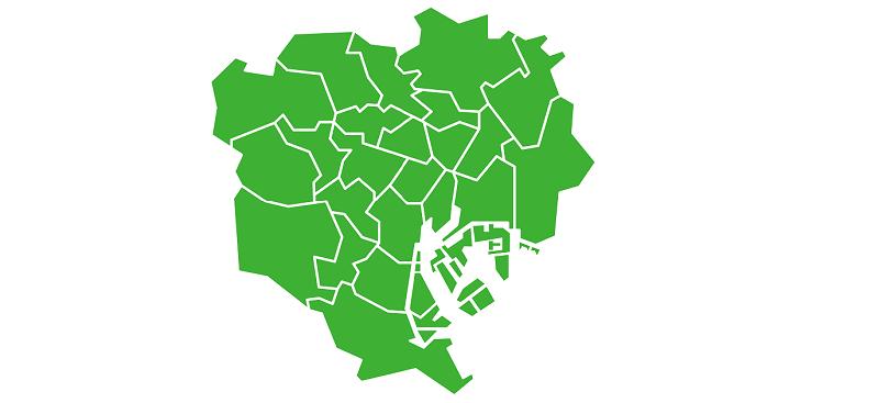 東京都内の地域画像