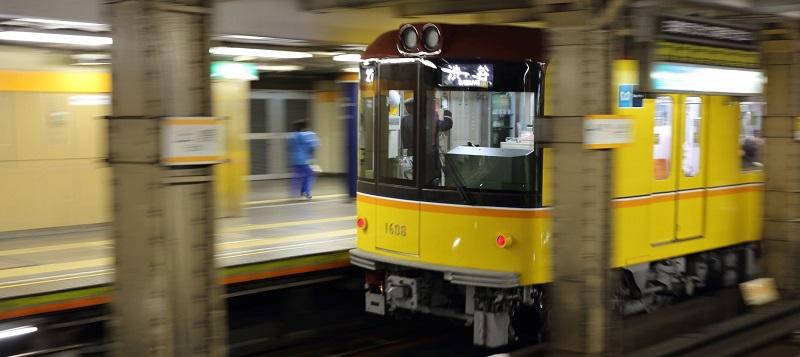 東京メトロ銀座線の写真