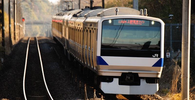 JR常磐線の写真
