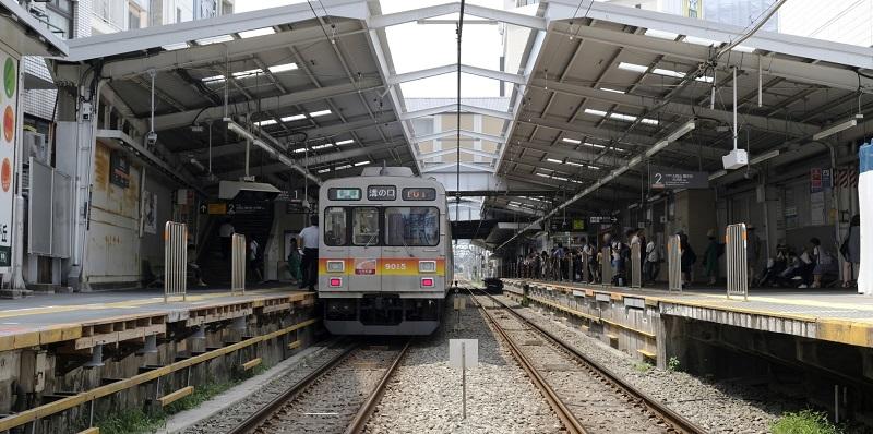 大井町線の写真
