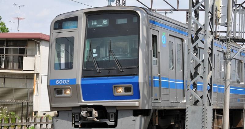 西武拝島線の写真