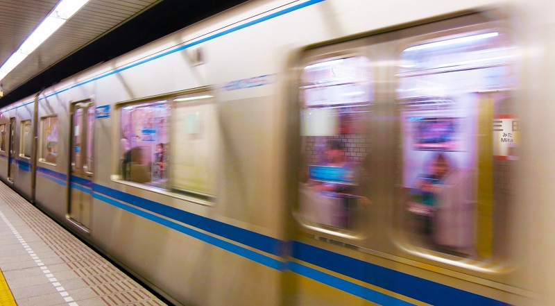 都営三田線の写真