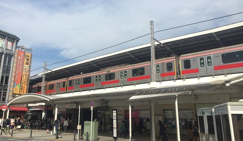 東急目黒線の写真